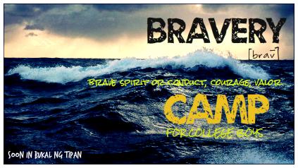 BRAVERY CAMP